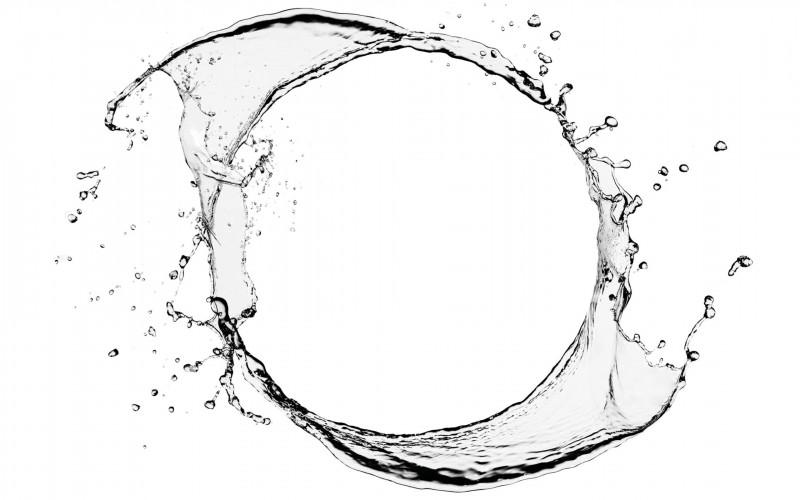 Wasserkreislauf- leading water- Regenwassermanagement