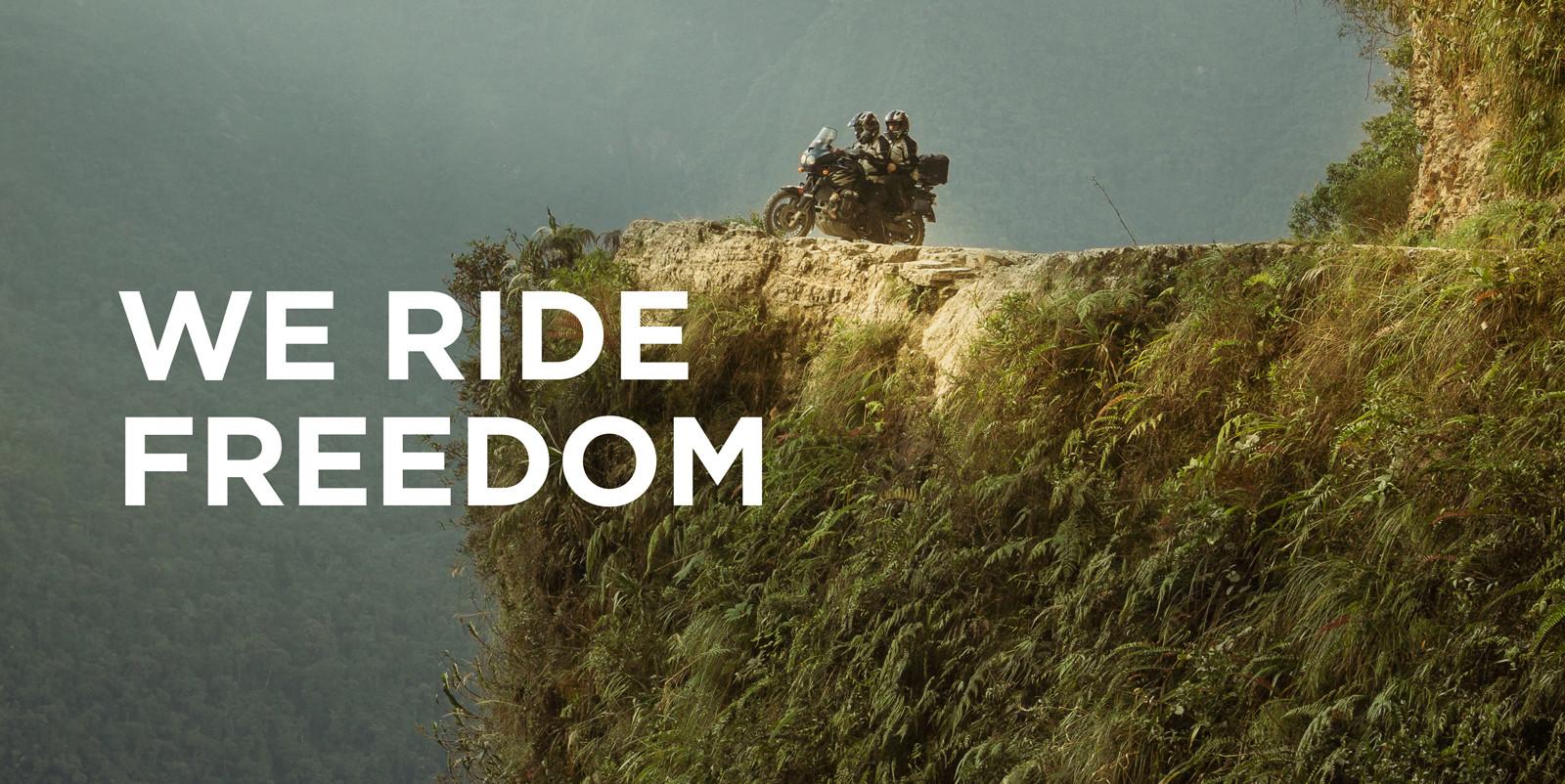 Modeka we ride freedom
